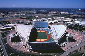 Stadium Australia, Homebush Bay, Sydney (credit: Olympic Co-ordination Authority)